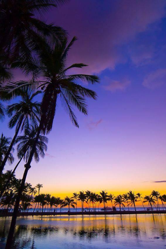 Anaehoomalu Bay, Hawaii